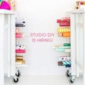 Studio DIY is Hiring – Operations Manager!