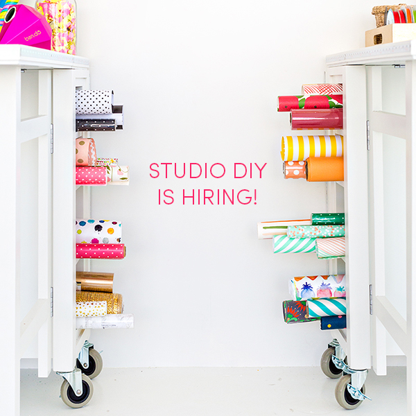 Studio DIY is Hiring