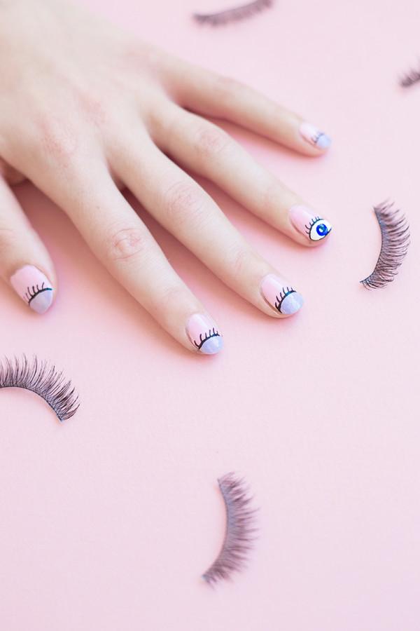 DIY Wink Wink Manicure