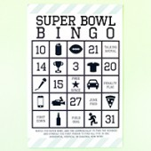 2015 Free Printable Super Bowl Bingo