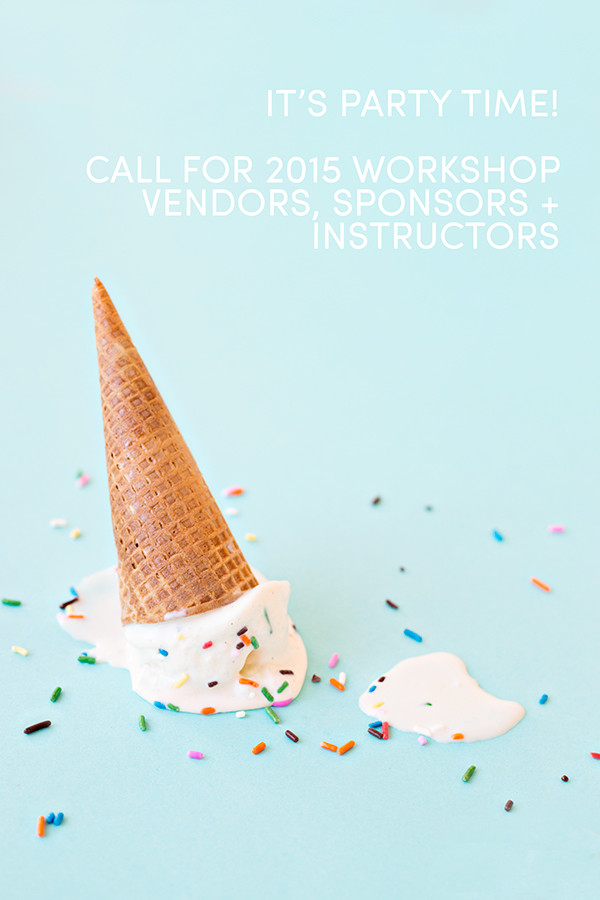 Studio DIY Call for 2015 Workshop Sponsors