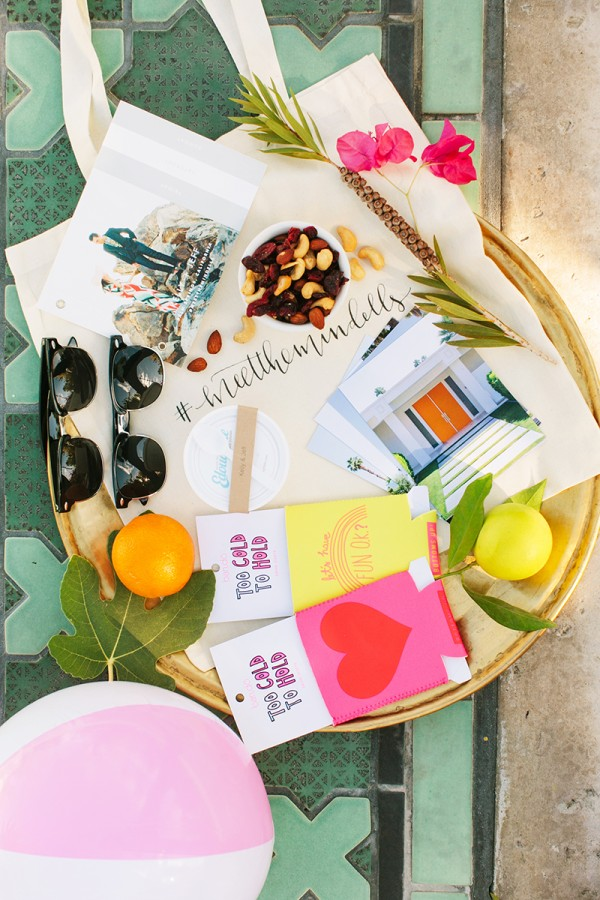 Palm Springs Wedding Welcome Bag