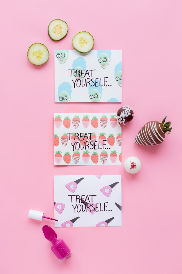 Treat Yourself Mother's Day Printables