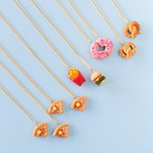 DIY Foodie Friendship Necklaces (+ A Giveaway!)