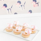 DIY Pink Umbrella Donuts (+ A Gray Malin Giveaway!)