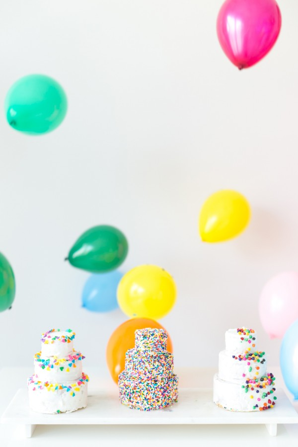 How To Make Mini Birthday Cakes