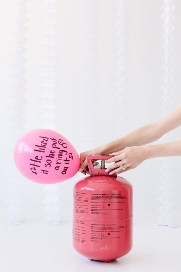 DIY Balloon Wishes for the Bride-to-be