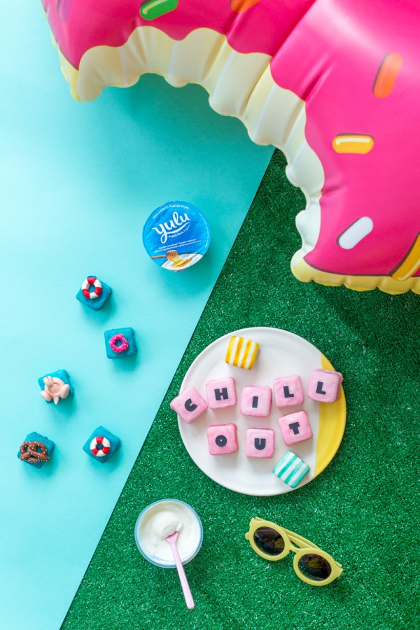 Pool Party Petit Fours