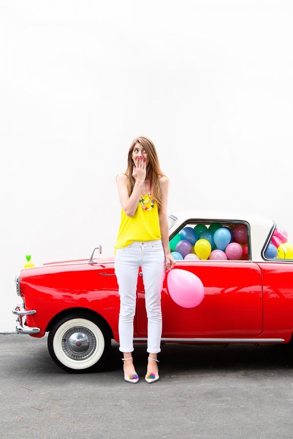 Balloon Car!