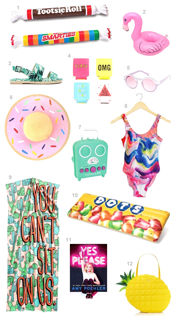 12 Pool Party Must-Haves