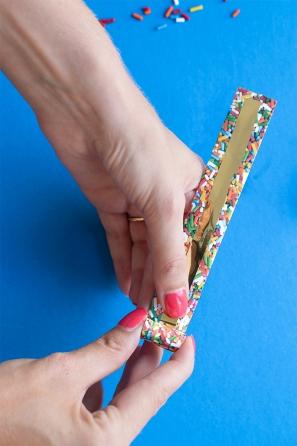 DIY Sprinkle Party Blowers