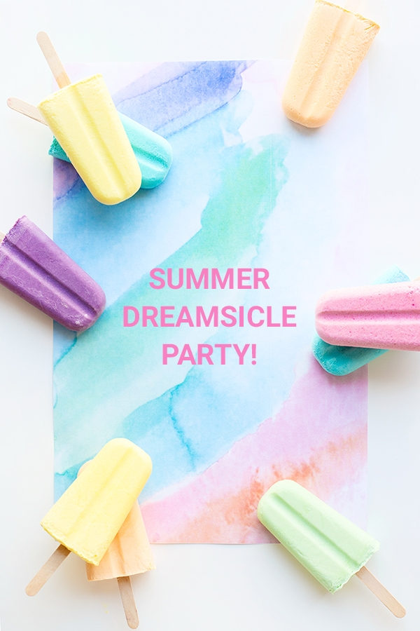 Summer Dreamsicle Party