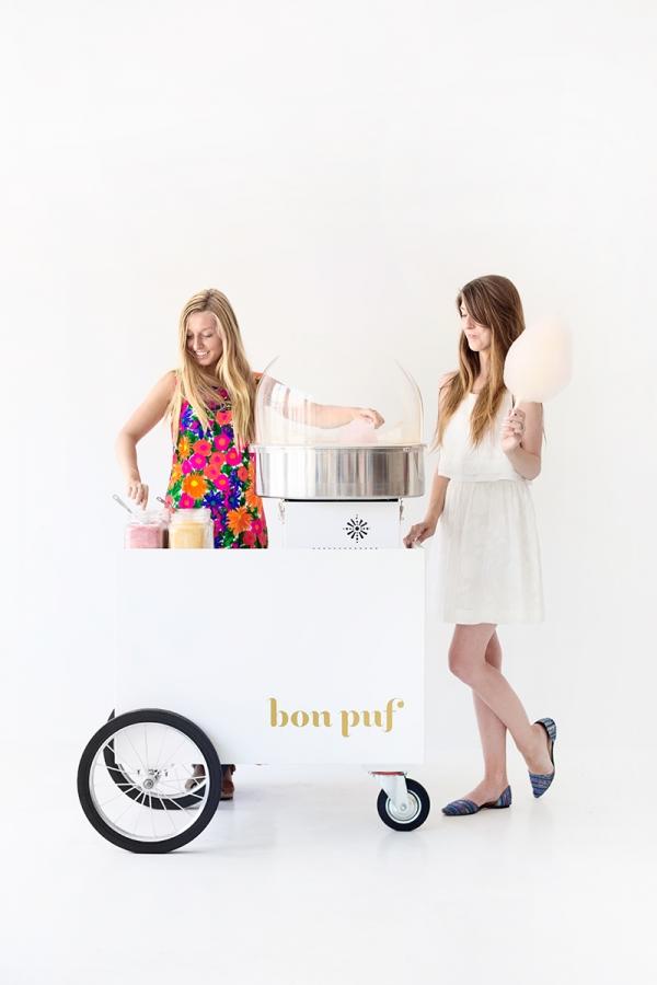 Bon Puf Cotton Candy Cart
