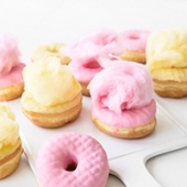 Cotton Candy Donuts