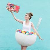 DIY Cereal Bowl Costume