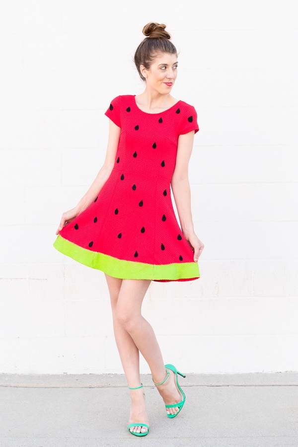 DIY Watermelon Costume