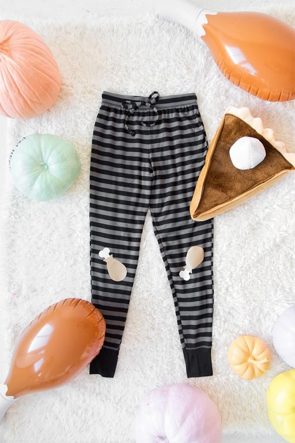 DIY Thanksgiving Pants