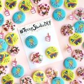 Happy Weekend (+ #TroopStudioDIY Pin Packs!)