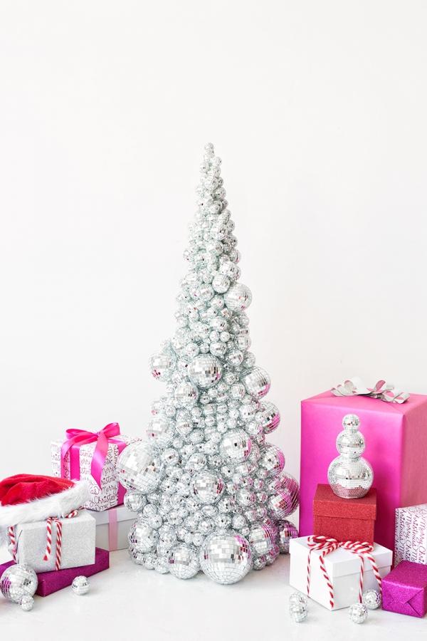 DIY Disco Ball Christmas Tree | studiodiy.com