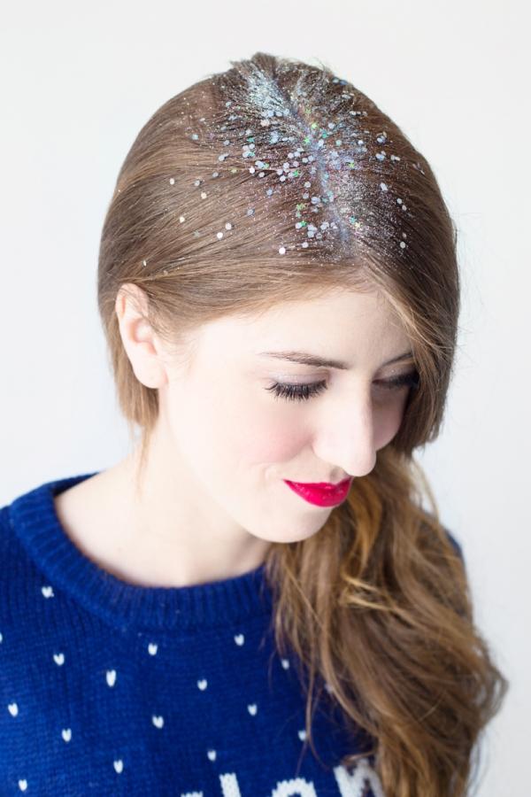 DIY Glitter Roots   studiodiy.com