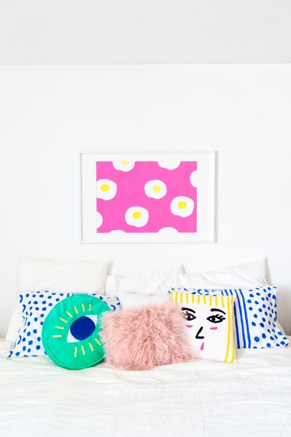 Colorful Master Bedroom   studiodiy.com