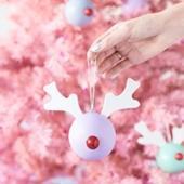 DIY Rudolph Ornaments