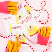 Merry Christmas To You + Your Fries! (And A Happy New Year!)