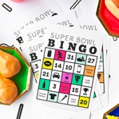 Free Printable Super Bowl Bingo 2016