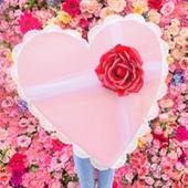 DIY Giant Vintage Valentine Chocolate Box